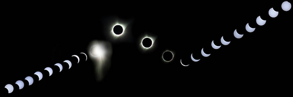 Eclipse America 2017 by James Heckt