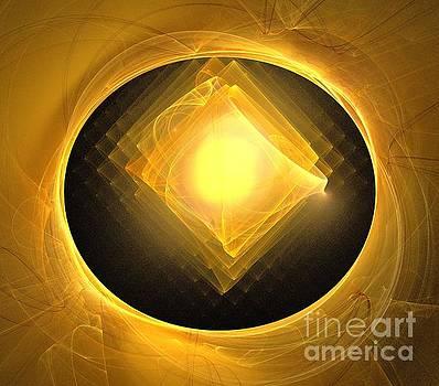 Eclipse Cube by Kim Sy Ok