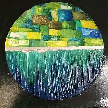 Eco-island by Agota Horvath