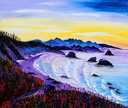 Ecola State Park In Cannon Beach #1 by Portland Art Creations