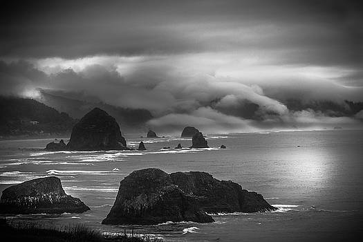 Ecola State Park Oregon by Shiela Kowing