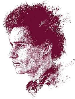 Eddie Redmayne Portrait by Chad Lonius