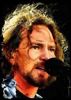 Eddie Vedder by Antonella Torquati
