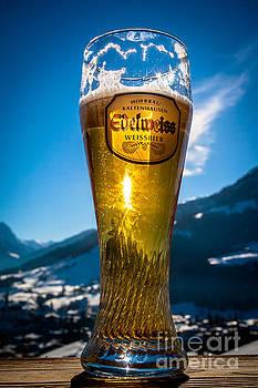 Edelweiss beer in Kirchberg Austria by John Wadleigh