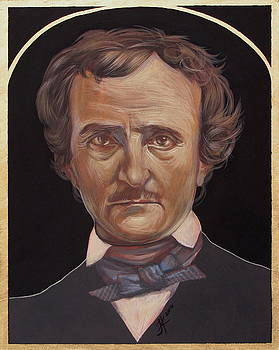 Edgar Allan Poe by Jovana Kolic