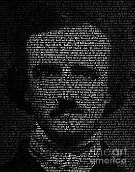 Edgar Allan Poe - TypeFace by Kenneth Rougeau