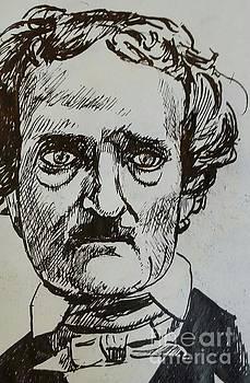 Edgar Allen Poe  by Jude Darrien