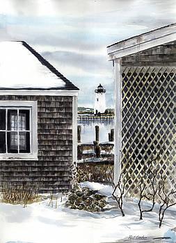 Edgartown Winter by Paul Gardner