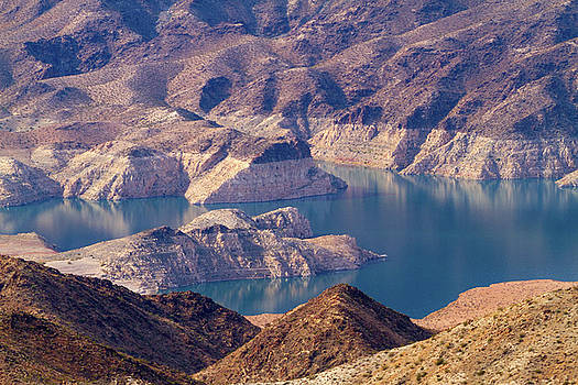 Edge of Lake Mead by Bonnie Follett