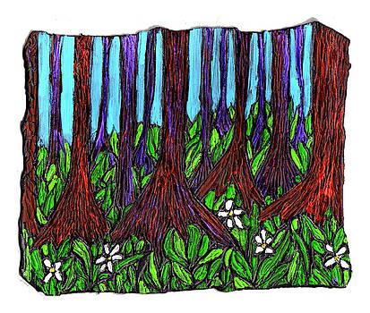 Edge of the Swamp by Wayne Potrafka