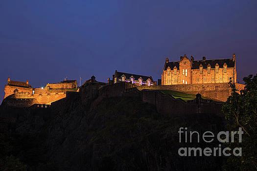 Bob Phillips - Edinburgh Castle After Dark