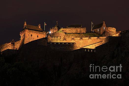 Bob Phillips - Edinburgh Castle At Night