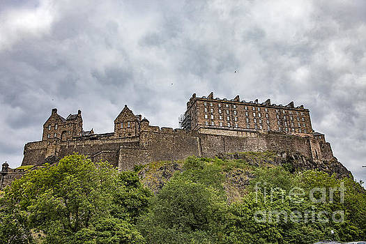 Edinburgh Castle by George Cathcart