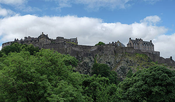 Jeremy Lavender Photography - Edinburgh Castle in Scotland