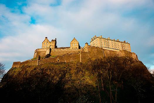 Edinburgh Castle by Max Blinkhorn