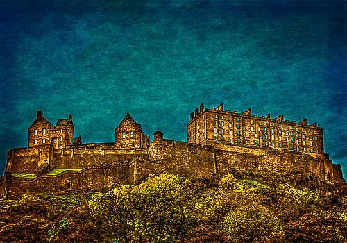 Edinburgh Castle Scotland by Tylie Duff