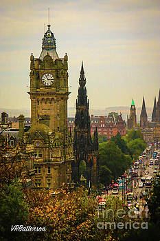 Edinburgh from Calton Hill by Veronica Batterson