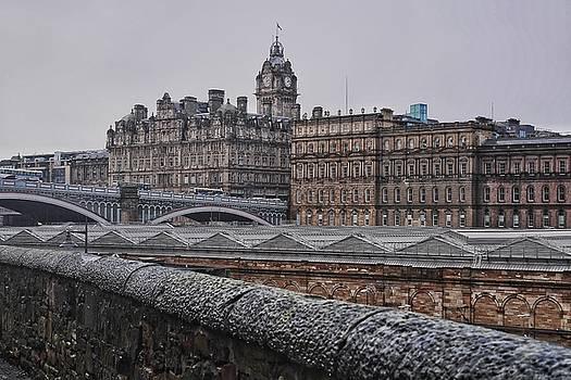 Edinburgh's New Town and Princes Street by Steffani Cameron