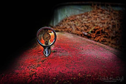 Edsel Emblem by Glenda Wright