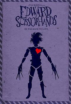 Edward Scissorhands Alternative Poster by Christopher Ables