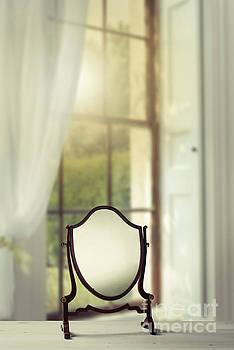 Edwardian Mirror by Amanda Elwell