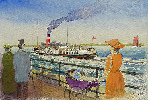 Edwardian Thames Estuary by David Godbolt