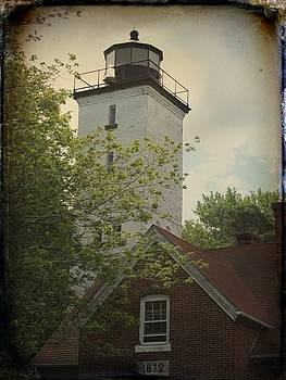 Gothicrow Images - Erie Lighthouse 1872