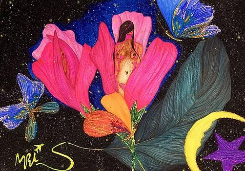 Effloresce,the Way You Gleam. by Tejsweena Krishan