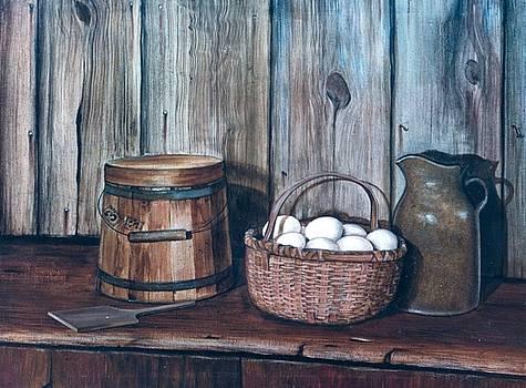Egg Basket by Charles Roy Smith