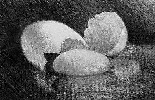 Egg Study by William Hay