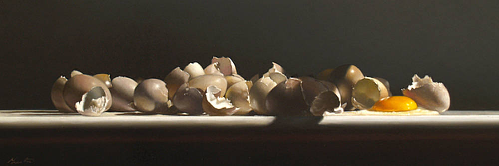 Larry Preston - EGG WITH SHELLS no.3