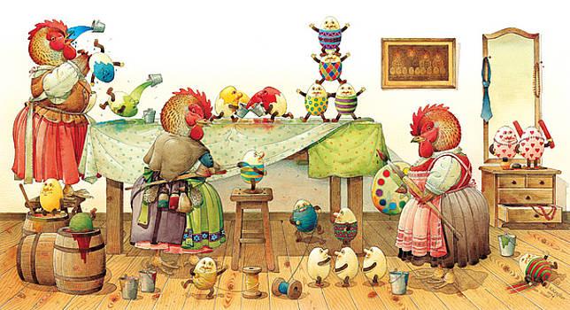 Kestutis Kasparavicius - Eggs Dyeing