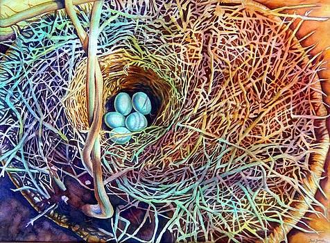 Eggs in a Basket by Gail Zavala