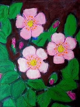 Eglantine Flowers by Elena Buftea