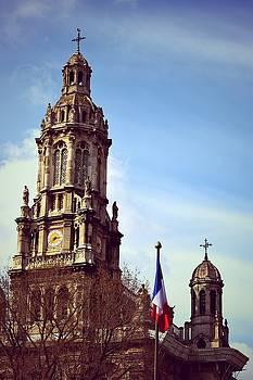Eglise de la Sainte Trinite by Valerie Dauce