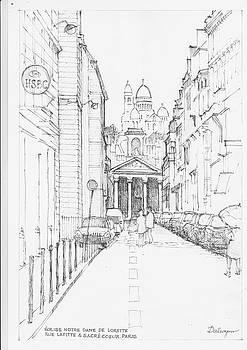 Eglise Notre Dame de Lorette Paris by Dai Wynn