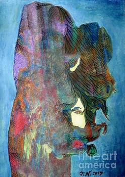 Egoist by Taikan by Taikan Nishimoto