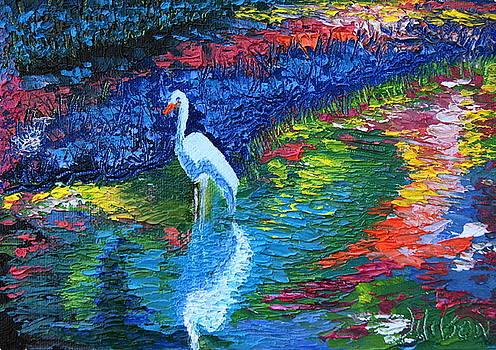 Egret Beauty by Chrys Wilson