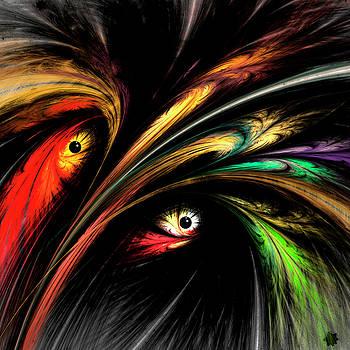 Egret In Breeding Plumes by Ivanoel Art