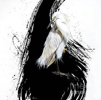 Egret by Sandi Baker