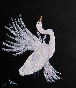 Dee Carpenter - Egret Study