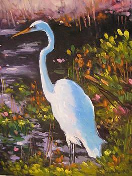 Egret by Susan Jenkins