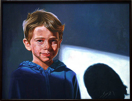 Egyptian Boy by Ahmed Bayomi