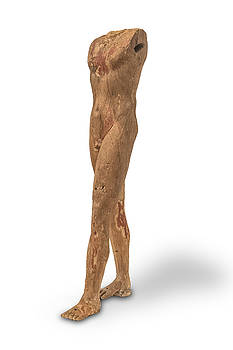 Egyptian Ka Statue by Gary Warnimont