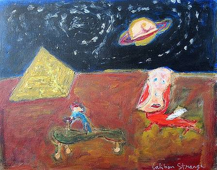 Egyptian Landscape by Caliban Strange