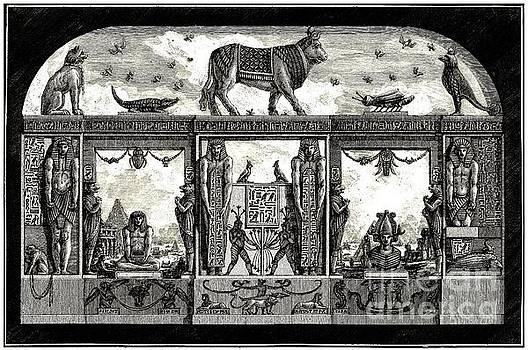 Peter Ogden - Egyptian Revival Print by Giovanni Piranesi 1769