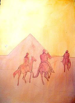 Allen Forrest - Egyptian Sunrise