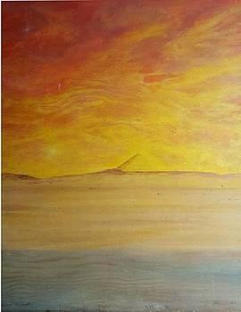 Egyptian Sunset by Cynthia Silverman