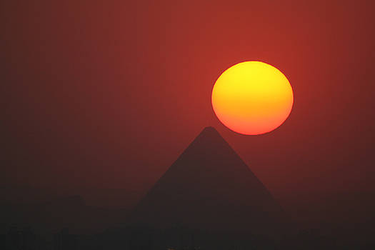 Egyptian Sunset by Donna Corless
