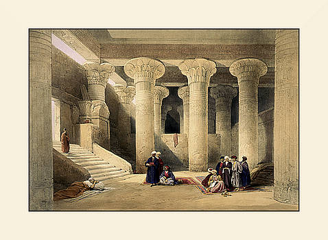 Egyptian Temple No 5 by Robert G Kernodle